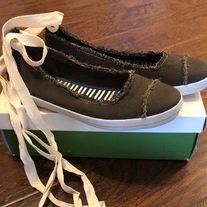 Kate Spade Hayley Sneaker Khaki Canvas 8